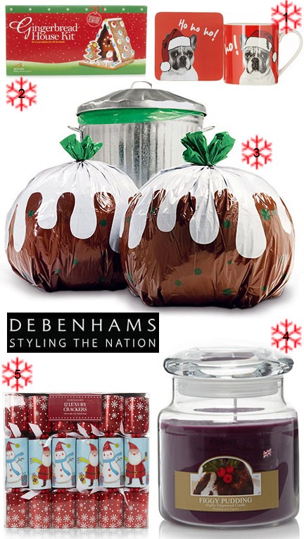 Christmas selection from Debenhams