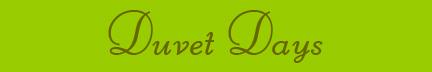 Duvet Days banner