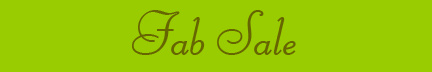 """Fab Sale"" banner"