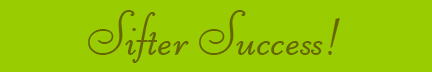 'Sifter Success!' blog post banner