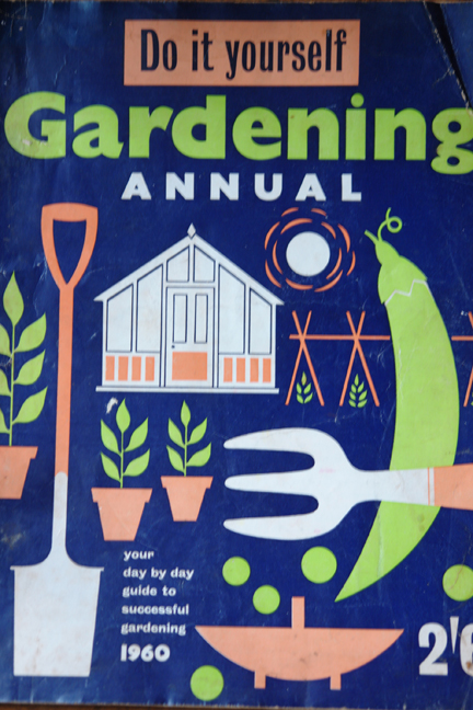 cover from vintage 1960s gardening annual