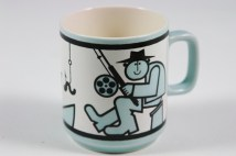 vintage Hornsea Pottery World's Greatest Fisherman mug