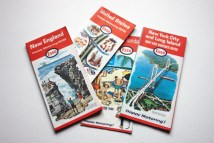 vintage Esso travel map from the 1960s