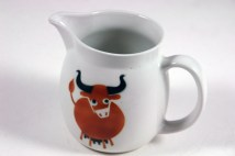 vintage Arabia milk jug with cow design