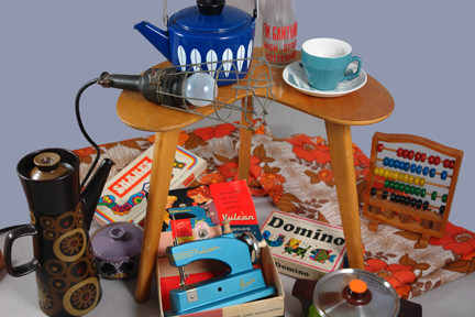 selection of vintage homewares soon to be available on the H is for Home webshop, eBay shop or Picture House Antiques pitch
