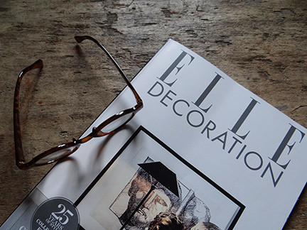 cover of the February 2014 edition of Elle Decoration magazine