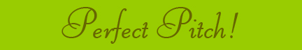 Perfect Pitch blog banner