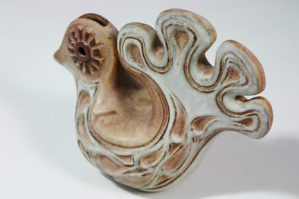 vintage Shelf Pottery bird