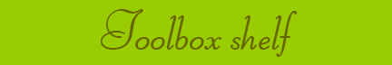 'Toolbox shelf' blog post banner