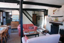 lounge of Sailmakers Barn, Wells-next-the-Sea