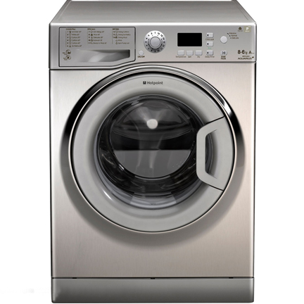 Hotpoint WDPG9640G Fast 1400 Spin Graphite Washer Dryer