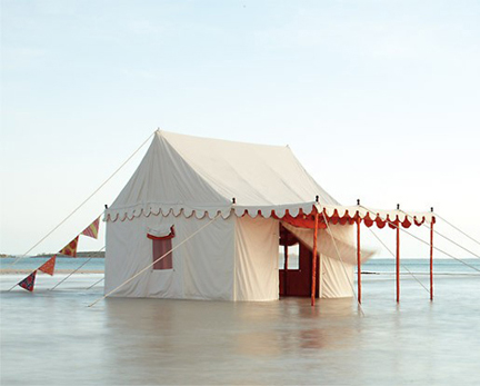 Altair tent availabel from Anthropologie
