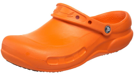 Wednesday Wish: Orange Crocs - H is for Home Harbinger