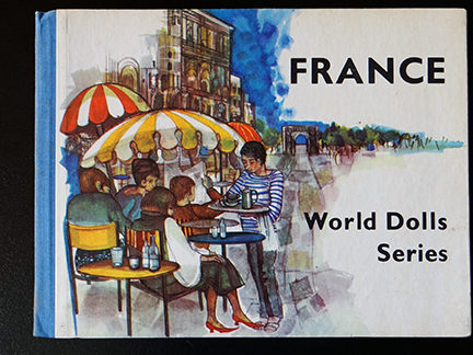 front cover of the France edition in the World Dolls Series of children's books