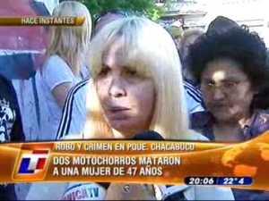 Un día de violencia en la Argentina
