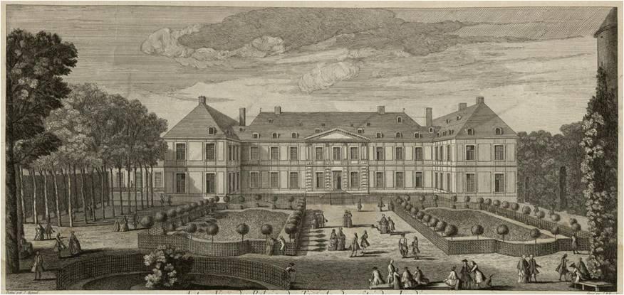 La maison du prieur du temple histoires de paris for Maison du jardin paris