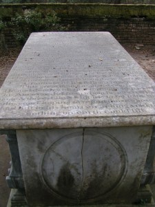 The grave of Aaron Burr Alston who was another loss to history by malaria.