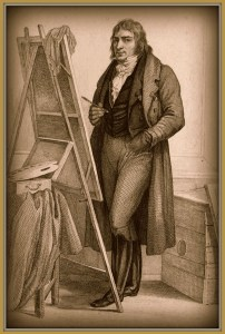 Baron Antoine-Jean Gros self portrait from 1820