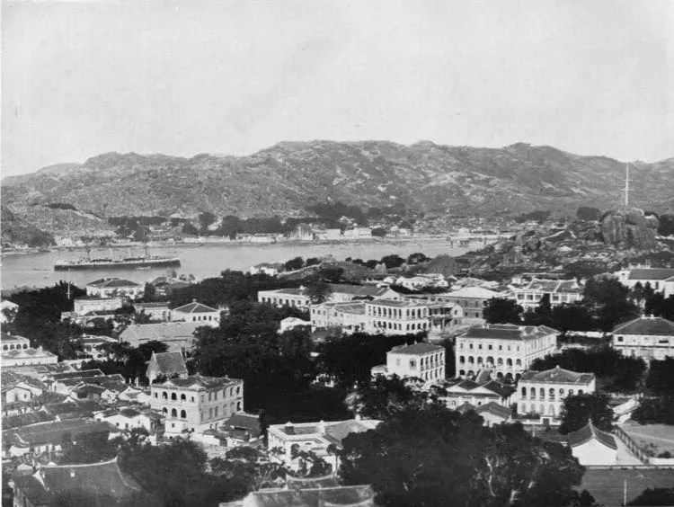 The Gulangyu International Settlement, 1908.