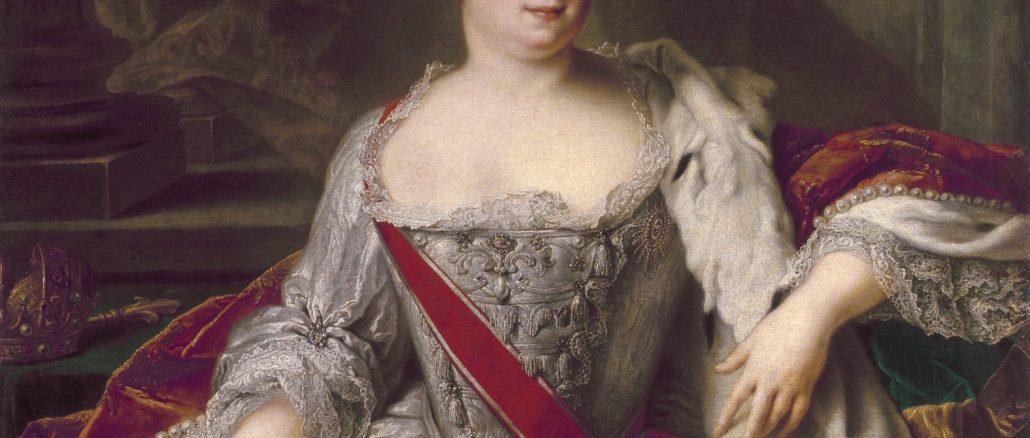 Catharina I, by Jean-Marc Nattier