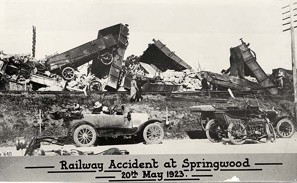Springwood Train Derailment