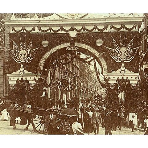 Federation Procession American Arch