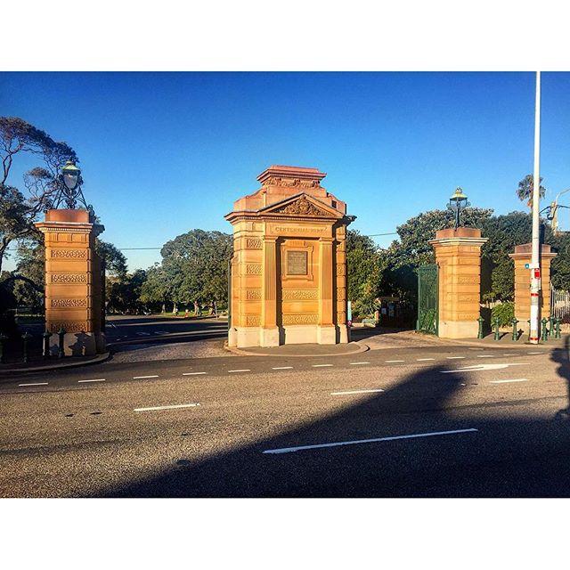 Paddington Gates Centennial Park