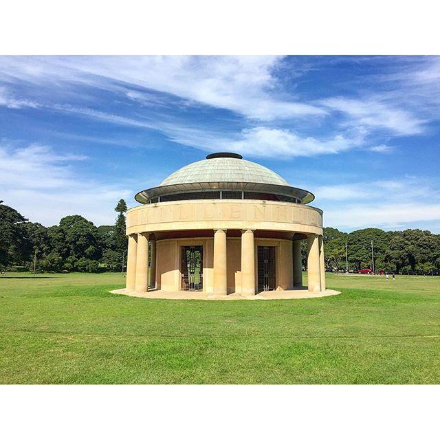The New Federation Pavilion Centennial Park