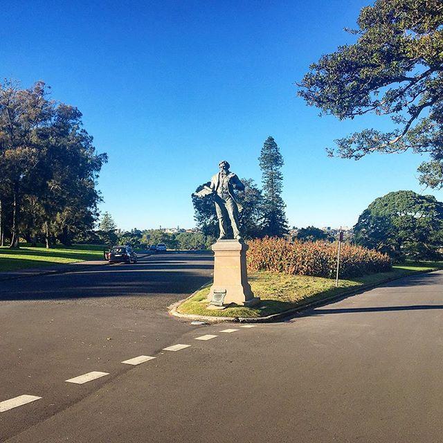 Sir Henry Parkes Statue Centennial Park Sydney