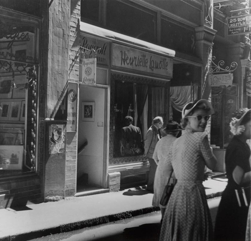 Rowe Street c. 1947-1953
