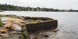 Old Gladesville Wharf, Bedlam Point