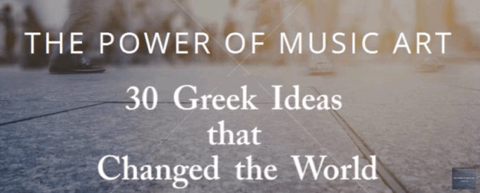 30 Greek Ideas that Changed the World