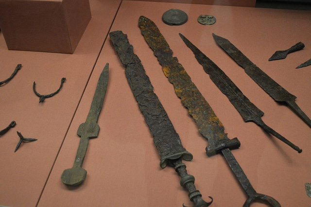 Roman swords - photo by Matt Brown / Flickr