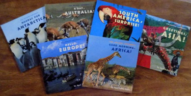 Continents books