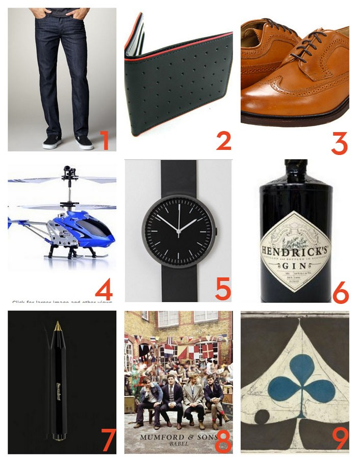 style shop  Gift Guide: For Him