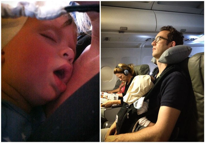 travel family  Flying with a baby or toddler