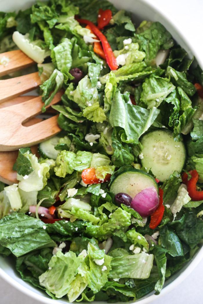 uncategorized food drink  Quick Salad Cheat