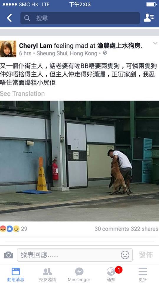 狠心主人棄兩狗,只為迎接新生? 難道這兩條不是生命? 網上圖片