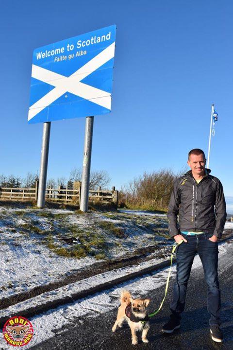 回到蘇格蘭的家了!
