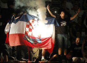 Paljenje hrv zastave