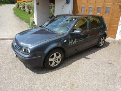 Unser VW Golf Grau