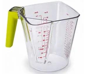 2 in 1 measuring jug