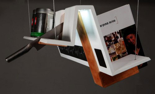 Leibal multipurpose kitchen shelf