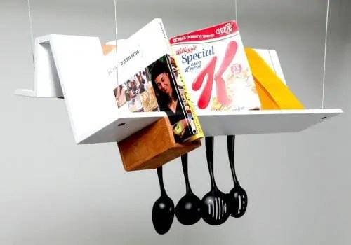 multipurpose kitchen shelf