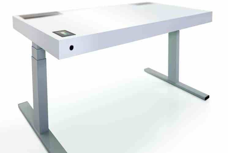 smart automated sit stand desk