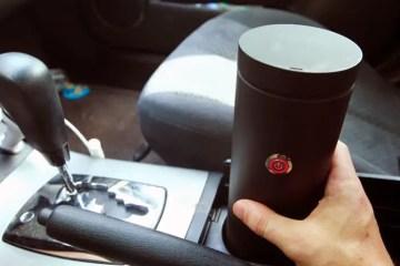 Hey Joe mug lets you brew coffee on the go