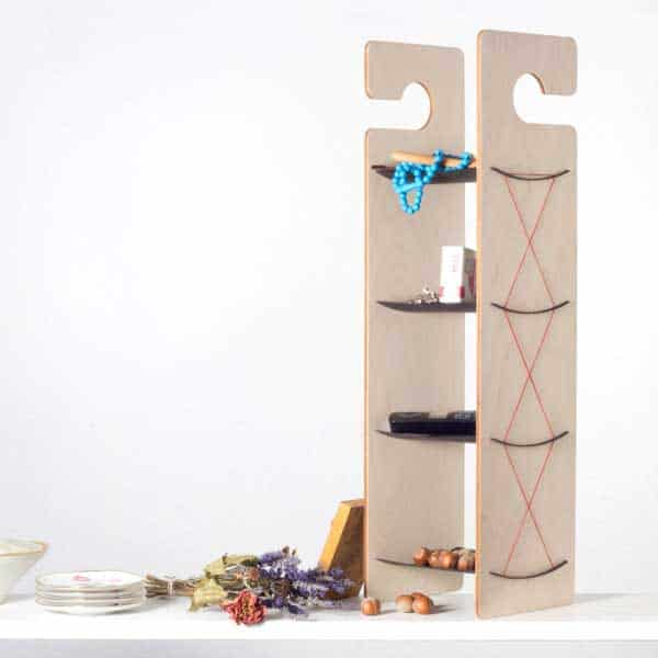 or use it as a standing shelving system
