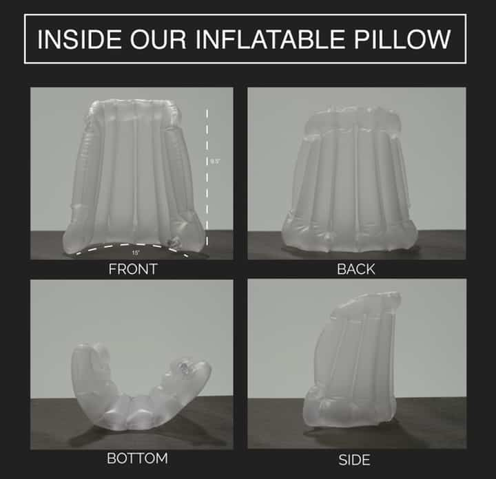 hypnos-travel pillow under the hood