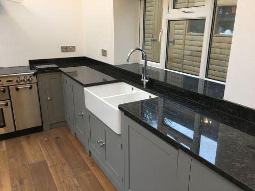 Medium Of Steel Grey Granite