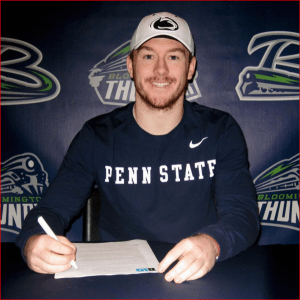 """bgober79: """"Honored to have signed my NLI to attend Penn State University"""""""